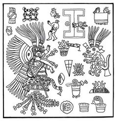 Mayan artXochiquetzal Symbol