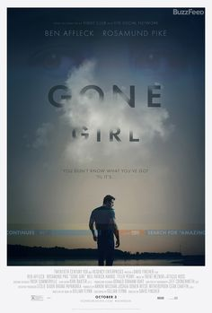 Here is an exclusive first look at the new poster for Gone Girl