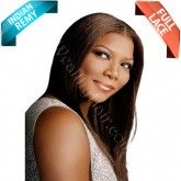Indian Remy African American Texture full lace wig Inspired by Queen Latifah