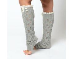 Gray Boot Socks