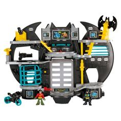 Fisher-Price Imaginext DC Super Friends Batcave Playset