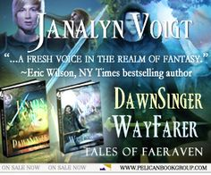 Special pricing for DawnSinger and Wayfarer on Kindle. For a limited time, each flight into epic fantasy adventure is just $4.99! Claim your copies: http://dld.bz/dvFWk
