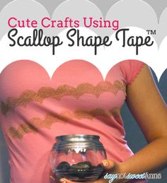 DIY SHAPE TAPE PROJECTS via @sweetannedesign