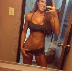 Girl is fit!! Motivation!!! diet motivation, inspiration, weight loss, fit bodies, fitness motivation, crossfit, android apps, fitness girls, fit motivation