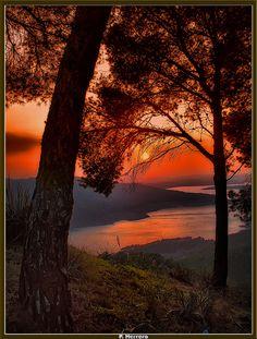 Sunset in Andalucia, Spain http://www.sunnyvillaspain.com/