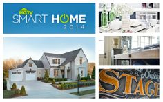 Welcome to the HGTV Smart Home 2014 Open House.  Join us for the next two hours as we tour every inch of this incredible high-tech luxury home and give you an exclusive look behind its design.  Pour your favorite beverage and join the party by commenting and repinning your favorite rooms.  (Remember to refresh your browser often to see the latest pin activity)