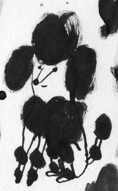 Karin Hagen - poodle ink
