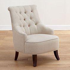 decor, armchair, idea, erin chair, button chair, chair design, reading chairs, buttons, side chairs