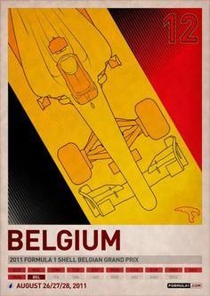 F1 Posters | Fubiz™