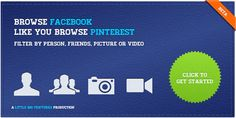 How To Transform A Facebook Account Into A Pinterest Pinboard