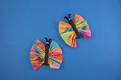 Why not mix up your butterfly crafts with these Majestic Clothespin Butterflies? They are so much fun to make!  | AllFreeKidsCrafts.com