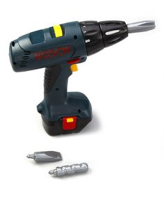 Take a look at this Toy Power Drill by Bosch on #zulily today!