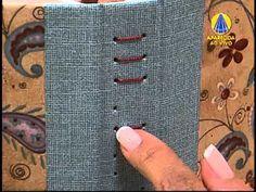 Sabor de Vida   Costura Artesanal: Torcido com Barras - 20 de Fevereiro de 2013 - YouTube