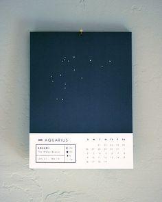 Stars & Constellation Calendars