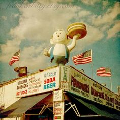 Coney Island Burgers, Brooklyn, New York City, New York.