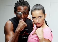 Adriana Lima's Personal Trainer Shares Her Workout!