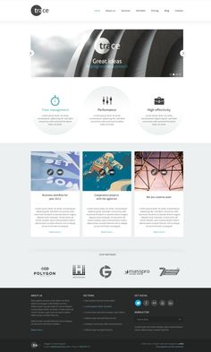 trace PSD template by entiri , via Behance