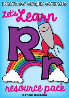 Letter Sound Rr Phonics Resource Packet