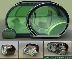 2030 car: Solar power car