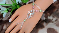 Slave Bracelet Humming Bird  Hand Chain Infinity by JWBoutique1, $16.00