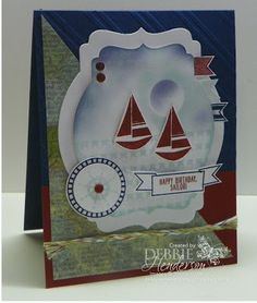 Stampin' Up! Settin' Sail by Debbie Henderson, Debbie's Designs.