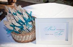 destination wedding ideas - brush sand from your feet