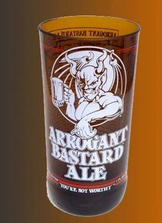 Stone Beer Bottle  Recycled Arrogant Bastard 16 oz. by CandlesByOC, $15.00