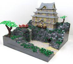lego templ, cosplay, tan tiger, chines templ, asian templ, lego creation, angela stuff, legos, japaneseinspir templ