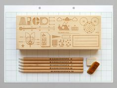 Homework Pencil Box by presentandcorrect