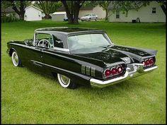 1960 Black Ford Thunderbird