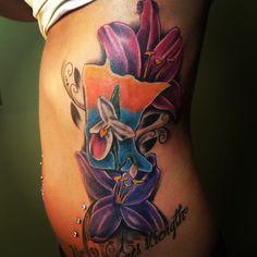 #tattoo #minnesota #flower