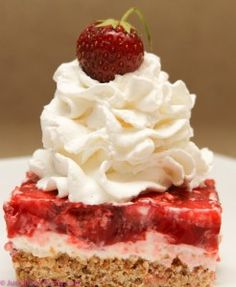 STRAWBERRY PRETZEL DESSERT    2 cups crushed pretzels  3/4 cups melted butter  3 Tablespoons + 3/4 cups of sugar  8 ounces cream cheese  8 ounces cool whip  2-3oz packages of strawberry jello  2 cups boiling water  20 ounces of frozen strawberries
