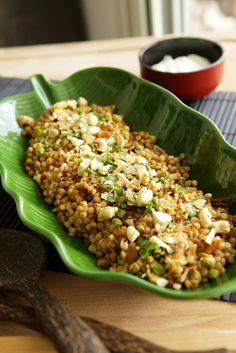 """I think this recipe for Israeli Couscous """"biryani"""" by @spicemistress21 will haunt my dreams until I cook it."""