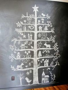Chalkboard #christmasdiy #holidaycrafts