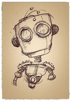 #robot #sketch