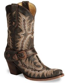 Corral Vintage Short Harness Boots #Corral  #Cowgirl #Boots #Love