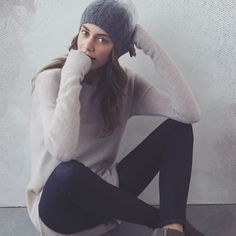 A cashmere beanie? Yes, please.