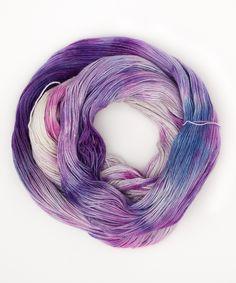 Tricksy Knitter - Silk & Cashmere Knitting Kit - Pansies