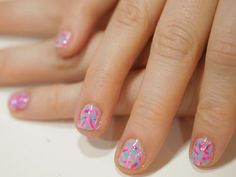 Donut Sprinkle Nail Art - Easy Nail Art by Breanne Trammell | New York - DailyCandy