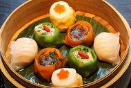 Dumplings at Hakkasan 311 W. 43rd St.