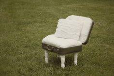 DIY vintage suitcase chair--- actual instructions...
