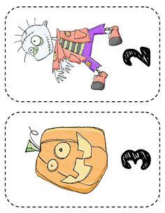 Halloween Pre-K Lesson Plan & Printables