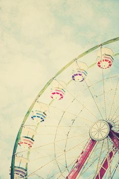 ferris wheel.  I want to frame this and put it in my house as a reminder to have fun and be carefree once in a while :)