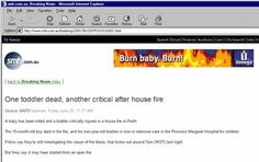 House Fire ad fail