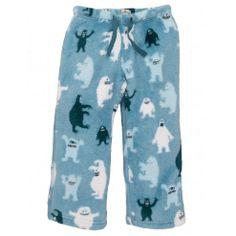 Ice Monsters Fleece Pants by Hatley 32$