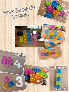 "Fun with Plastic Ice Cubes from Rachel ("",)"