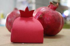 Pomegranate box for #Rosh Hashanah