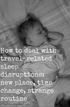 Helping kids to sleep during travel. Tips to help you survive and not be sleep-deprived!