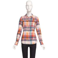 Factory perfect shirt in summer plaid