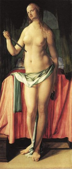 Albrecht Dürer - The Suicide of Lucretia1518
